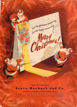 1946 Sears and Roebuck Christmas catalogues