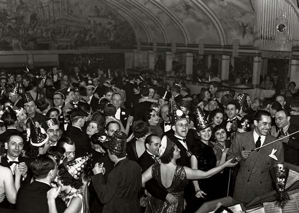 Happy New Year -- Cab Calloway and his orchestra at the Cotton Club on New Year's Eve, 1937