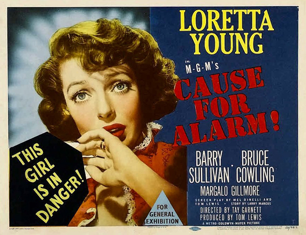 Noirs We Love: Cause for Alarm
