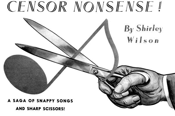Censor Nonsense by Shirley Wilson