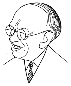 Caricature of Carl Laemmle
