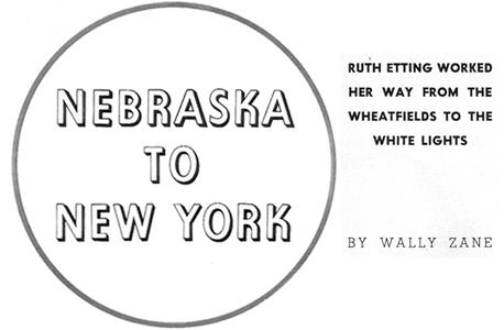 Nebraska to New York