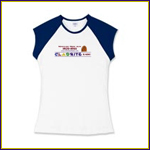 Women's Fitted Cap-Sleeve T-shirt