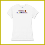 Women's Fitted Fine Jersey T-shirt
