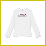 Women's Fitted Baby Rib Long-Sleeve T-shirt
