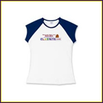 Girls' Cap-Sleeve T-shirt