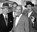 Harpo, Zeppo, Chico, and Groucho Marx