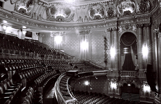 Interior of Hollywood Theater