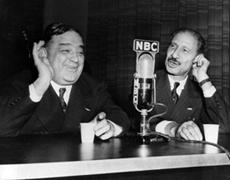 New York City Mayor Fiorello La Guardia and Franklin P. Adams on Information Please