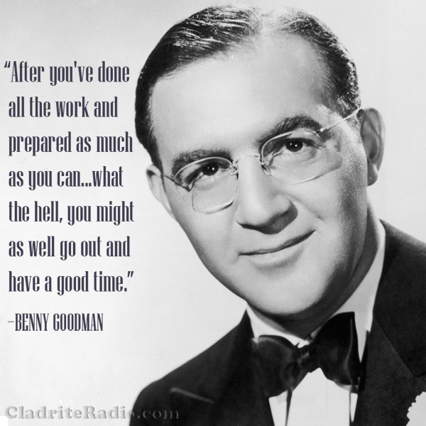 Benny Goodman quote