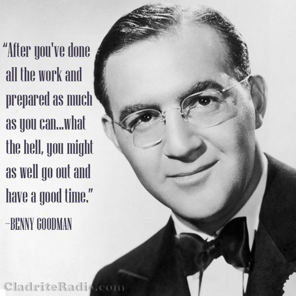 Benny Goodman quote