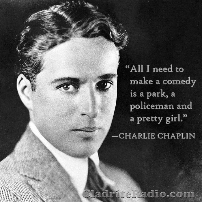 a young Charlie Chaplin