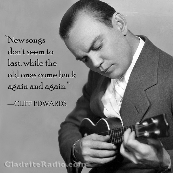 Cliff Edwards quote