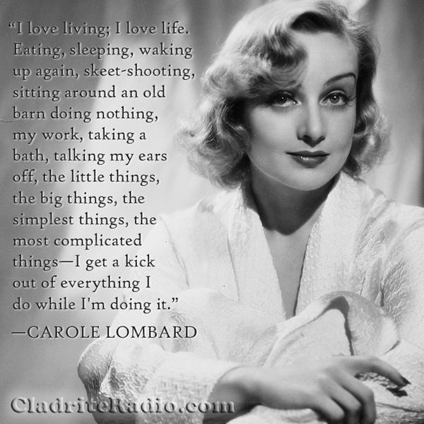 Carole Lombard quote