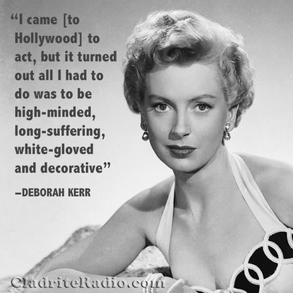 Deborah Kerr quote