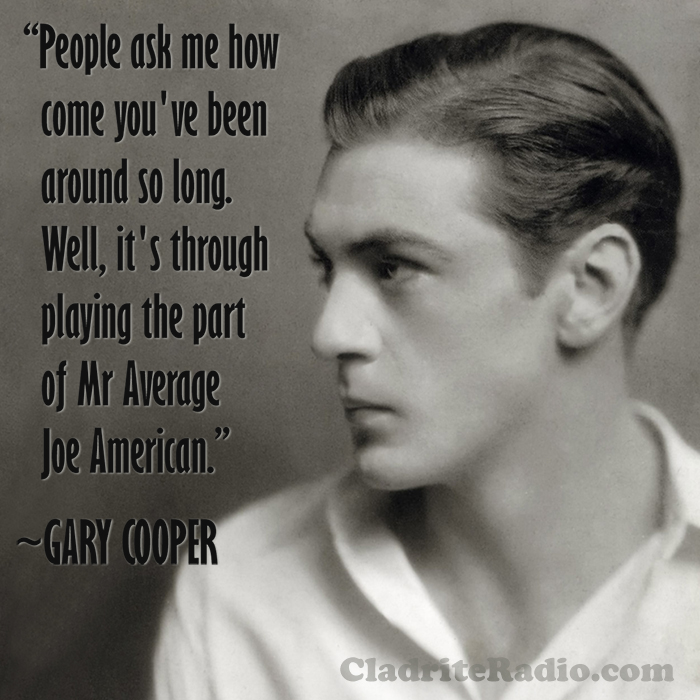 Gary Cooper quote