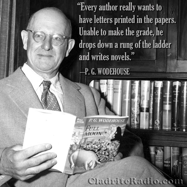 P. G. Wodehouse quote