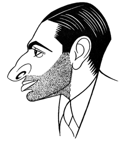 Caricature of Jed Harris