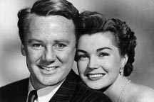 Van Johnson and Esther Williams