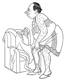 Caricature of Kelcey Allen