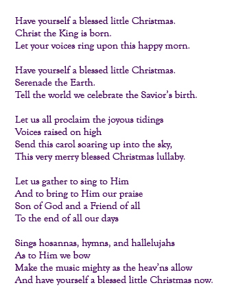 Merry Little Christmas Lyrics.The Twisting Path To A Merry Little Christmas Cladrite Radio