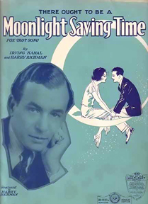 Sheet music for Moonlight Saving Time