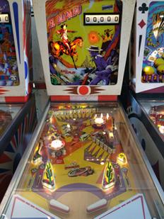 Vintage Pinball Machines: El Dorado--1975