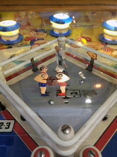 Vintage Pinball Machines: Knockout--1950
