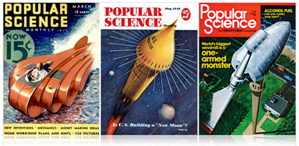 image-Popular Science covers