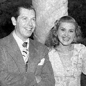 Rose Marie with Milton Berle