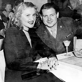 Rose Marie with husband Bobby Guy