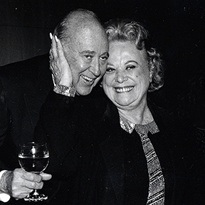 Rose Marie with Carl Reiner