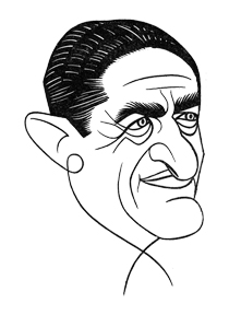 Caricature of Sam H. Harris