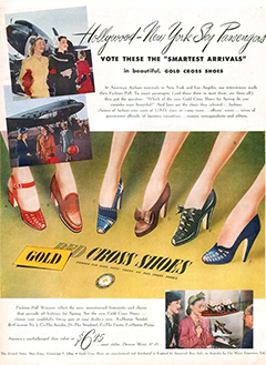 Red Cross Shoes ad
