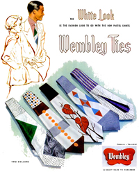 Wembley Ties ad