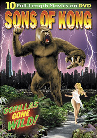 Gorillas Galore Giveaway of three Sons of Kong DVD sets