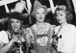Gloria Swanson, Marion Davies, Constance Bennett, Jean Harlow