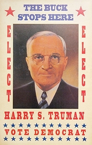 Harry Truman campaign poster