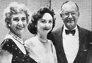 Arlene Francis, Dorothy Kilgallen, Bennett Cerf of What's My Line
