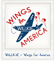 Willkie campaign poster